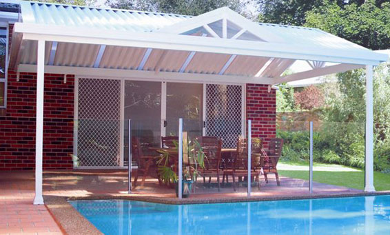 Specialising in gable roofs for outdoor living