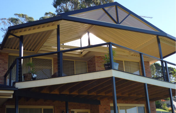 ... Gable Roof And Deck In Dapto ...